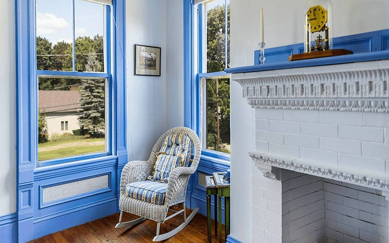 Blue Living Room photo